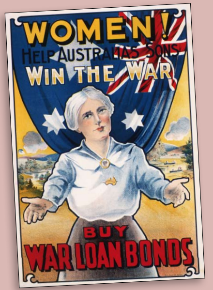 the role of australian women in world war i Aussie women in world war ii: the australian women's army service  (awas)  played a ground-breaking role in the second world war.