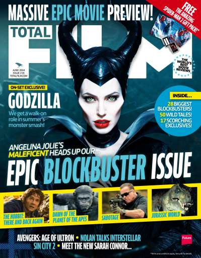 Lucy Day A2 Media Coursework: Total Film Magazine Front