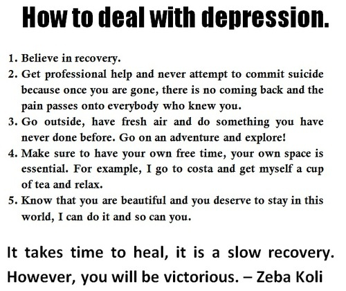 depressioni hope i have educated you on depression, depression is a very serious mental illness if you or someone close to you shows signs of depression you are not