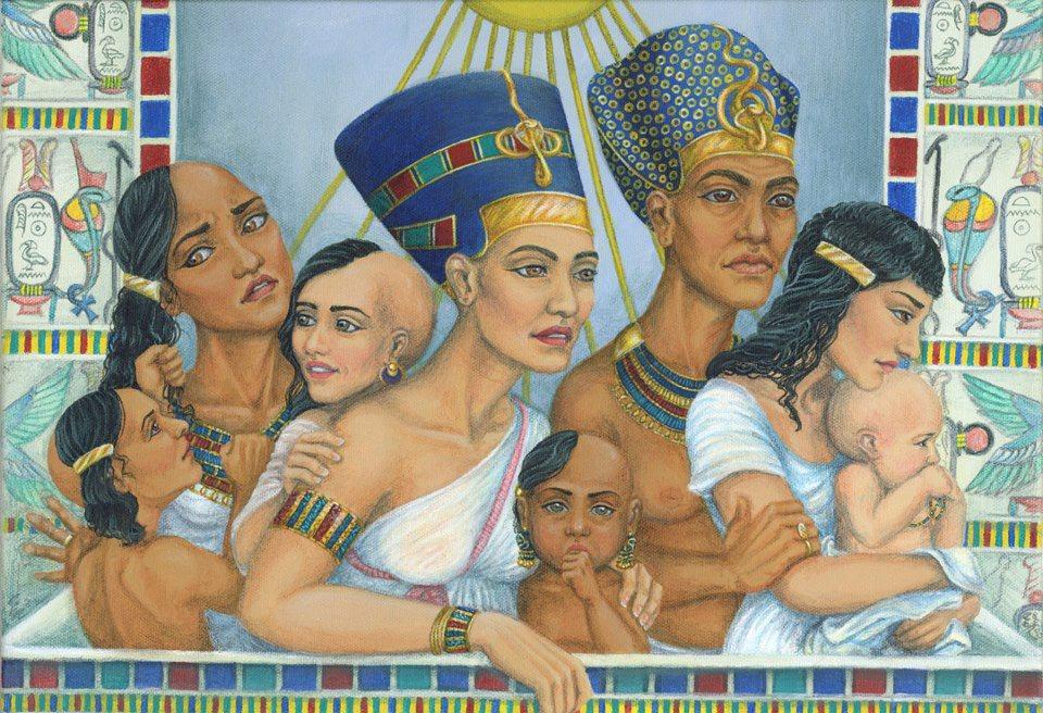 Nefertiti had six daughters