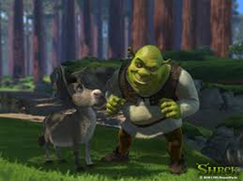 shrek and donkey confused