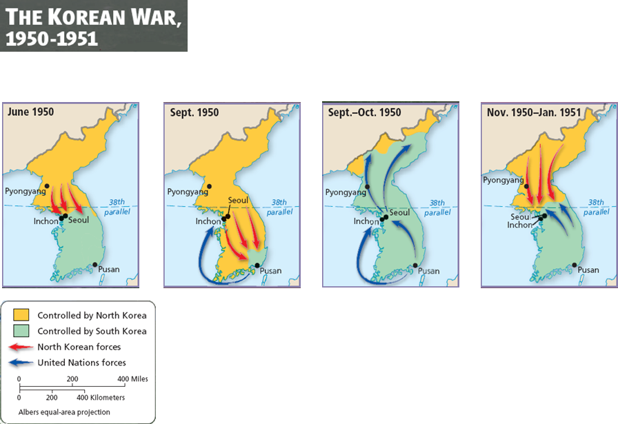united states involvement in the korean war causes and effects