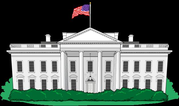 Белый дом рисунки 29