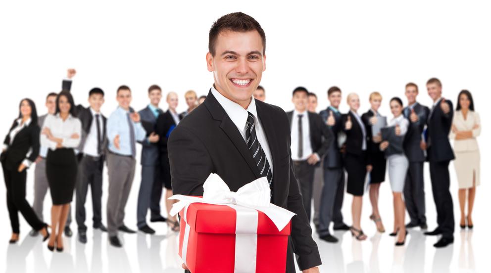 Деловому человеку деловой подарок