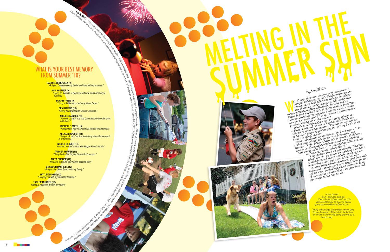School magazine cover ideas