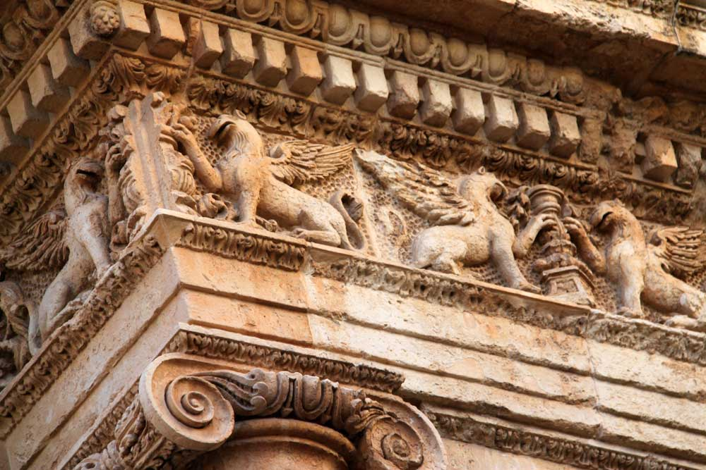 In This Image Of Nicolacis Palace Italy The Italian Influence Architecture With Use Carved And Modeled Not Draw Frieze Patterns Takes A