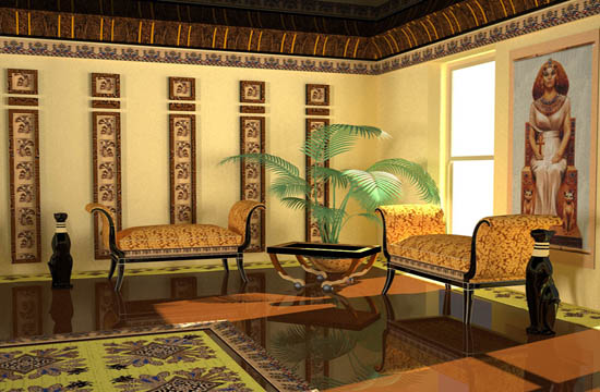 You Can Also Use This Theme For One Room Decorating In Egyptian Interior Style And Use A Different Civilization Inspiration For Decorating Other Rooms In