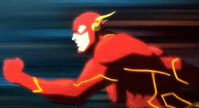 The flash animated gif