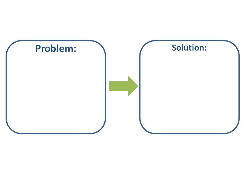 problem solution Omid panahi finds that finding a solution is not the problem.