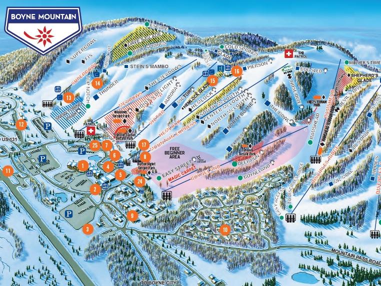 Michigan on emaze for Boyne mountain resort