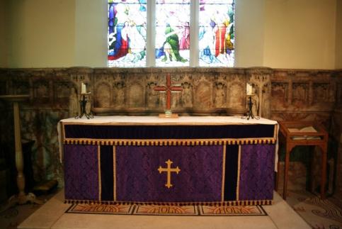 Credencia Iglesia : Partes y elementos de una iglesia