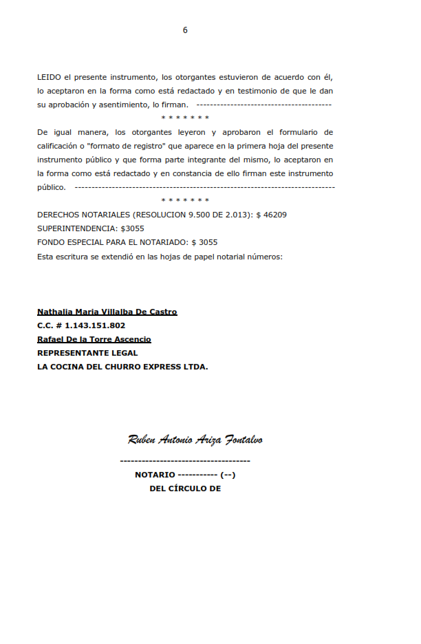 Presentacion proyecto la cocina del churro express ltda - La cocina de la escritura ...