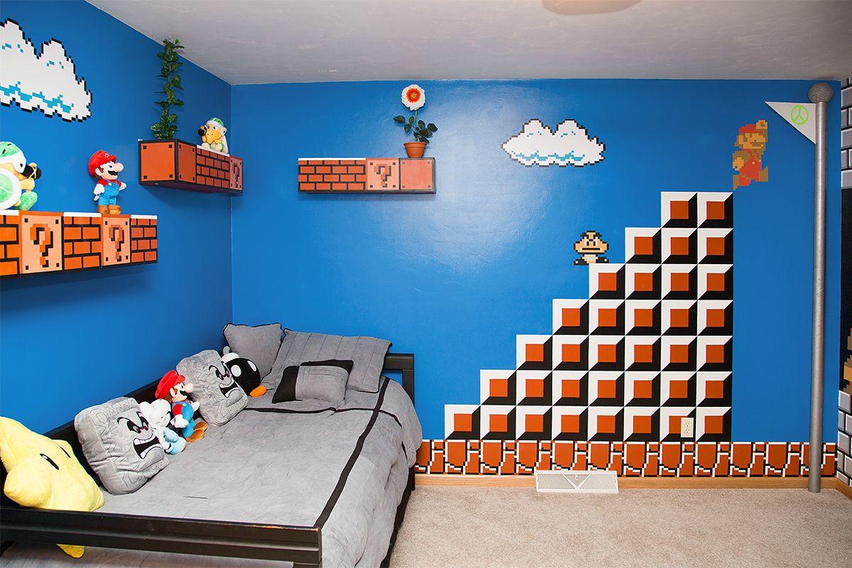 Super Mario Bedroom Only On Emaze