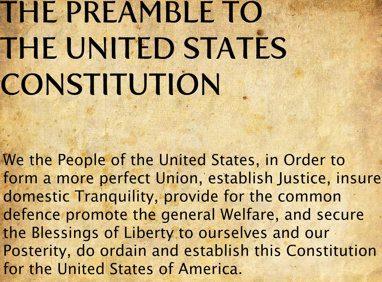 a discussion on the importance of the preamble to the constitution to the united states Note from the constitution committee: the following is the proposal for an updated constitution that will be submitted to the convention by the constitution committee.