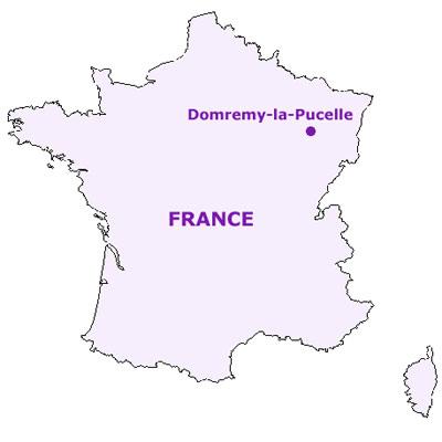 Resultado de imagen para Domrémy francia