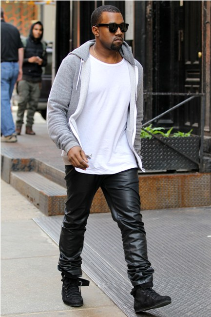 Kanye West Leather Pants | www.pixshark.com - Images ...