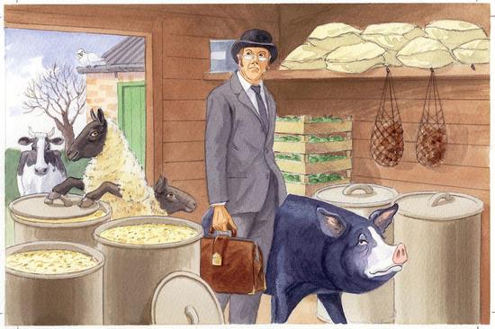 character essay on napoleon in animal farm