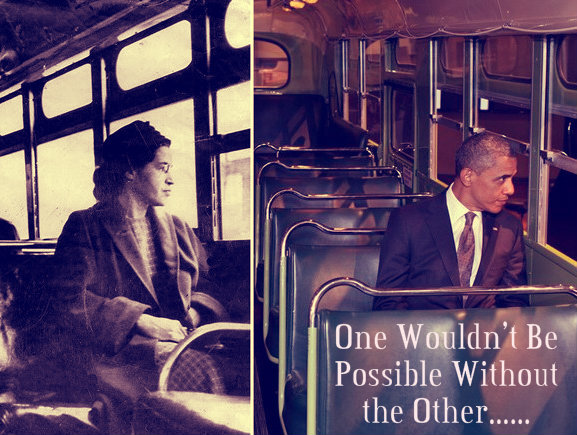 The firm stand of rosa parks against racism