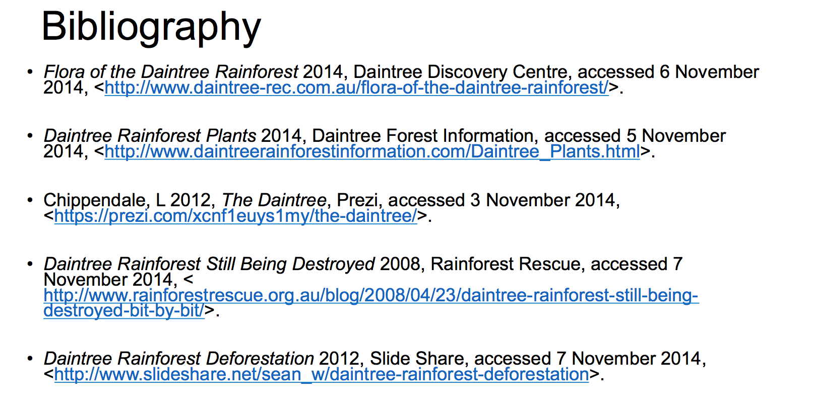Daintree rainforest on emaze affects animals therefore food chains pooptronica