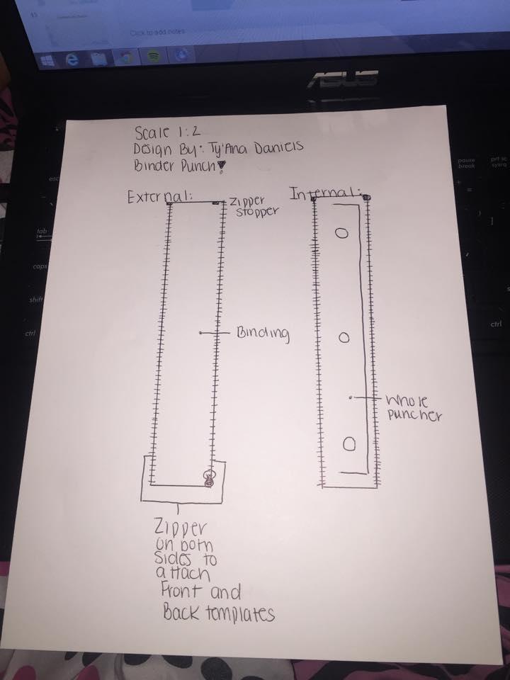 Interchangeable parts presentation blueprint of binder punch malvernweather Gallery