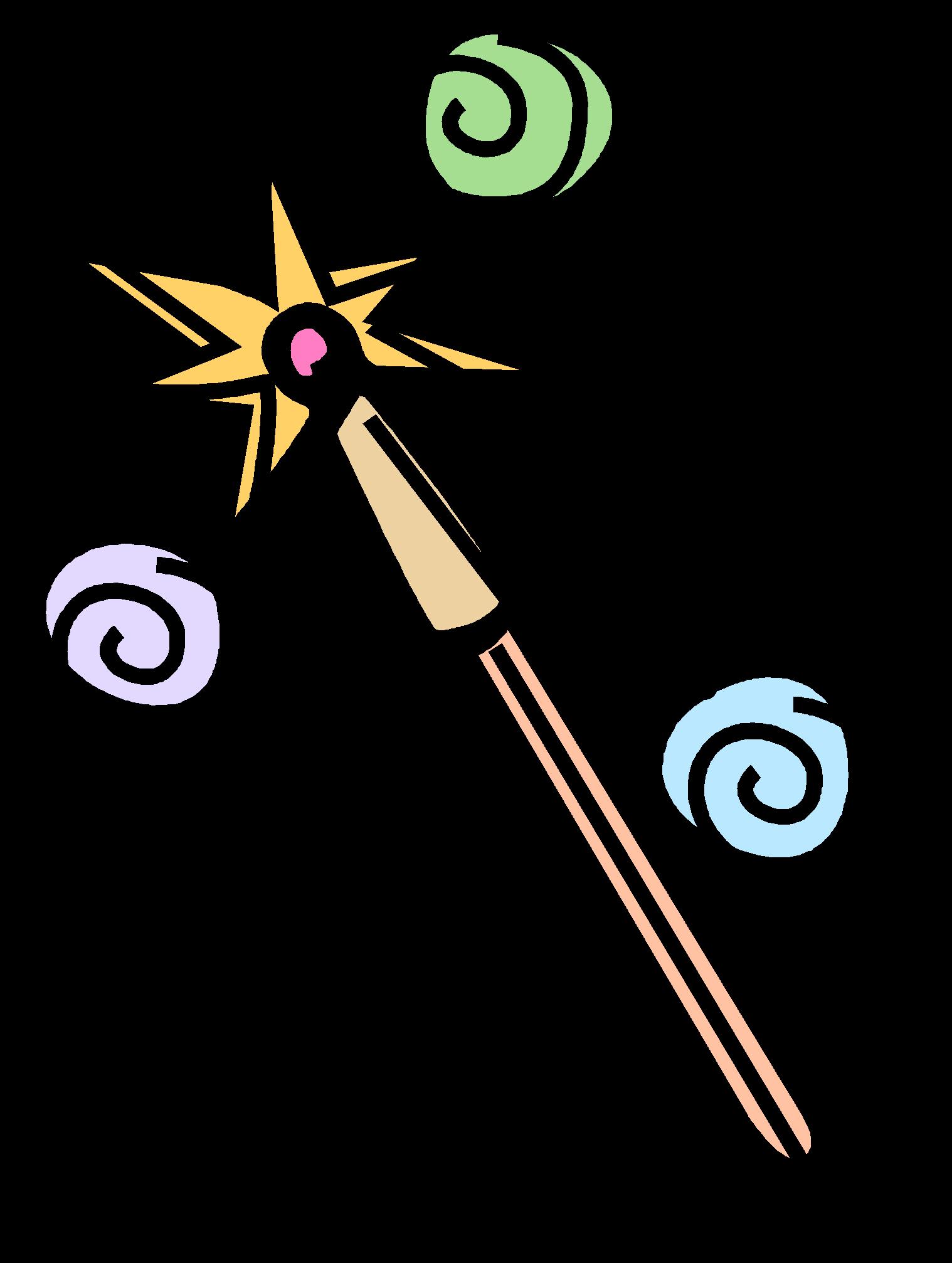 Как сделать волшебную палочку как просто