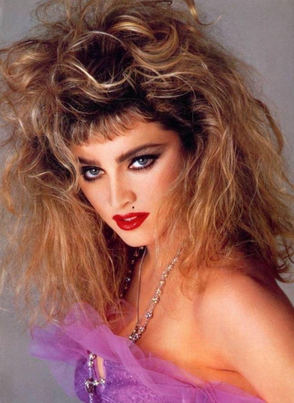 Стиль и модные прически 1980 -х годов