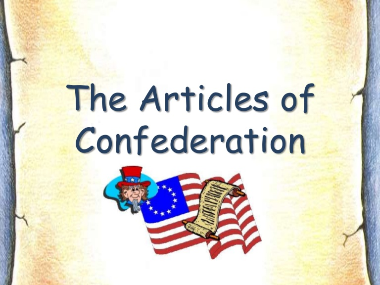 Essay about articles of confederation