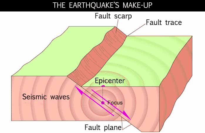 the occurence of the earthquake essay