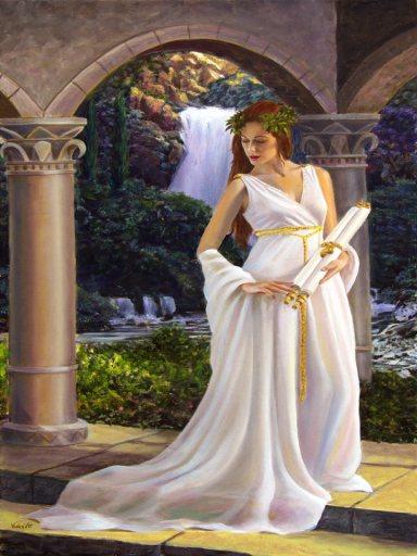 The Nine Muses of the Greek Mythology