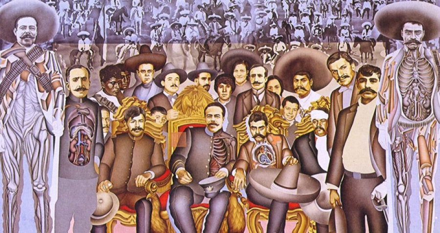 Revolucion Mexicana Mural la Revolución Mexicana Que