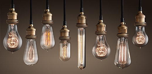 These new light bulbs had a slow start at first but then later blew up as a cheap source of light now used everywhere today. & Artifact Presantation azcodes.com