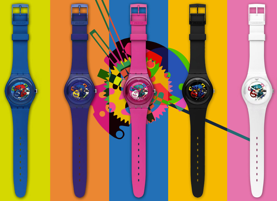 swatch positioning