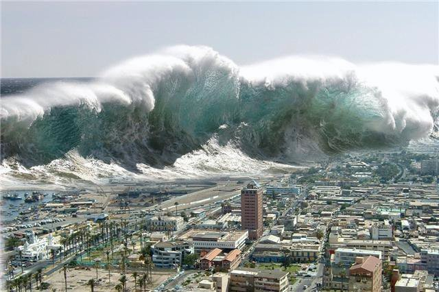 Tsunami Pictures Tsunamis are fairly