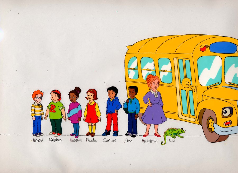 Magic School Bus Drawing Magic School Bus Field Trip