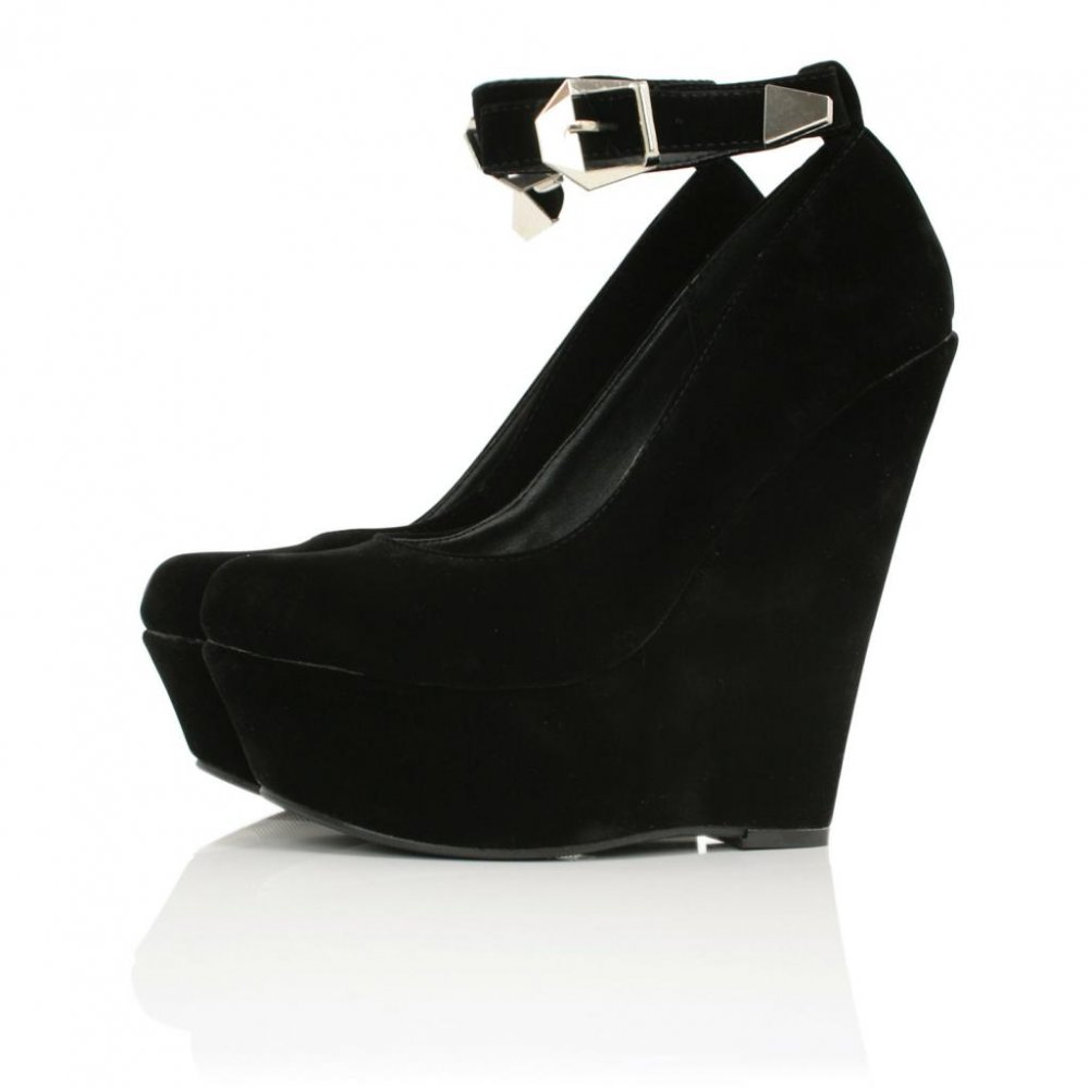 Platform Heel Shoes - Is Heel