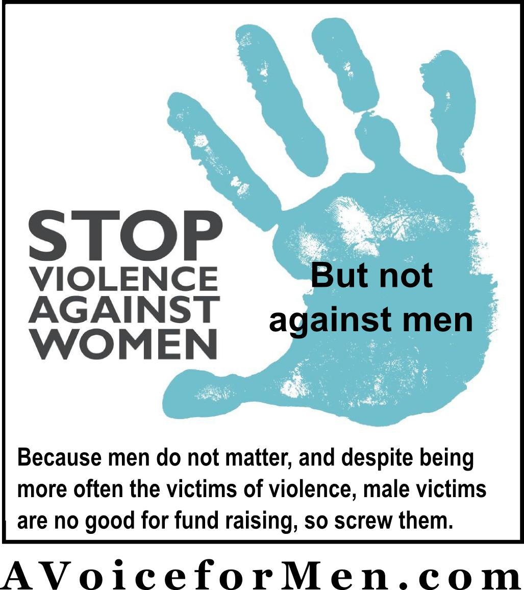 domestic violence against men and women