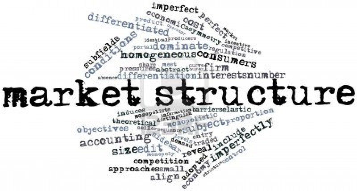competitive structure of market for search Free market structure papers (ranked search) healthcare and the competitive market structure - a competitive market is one that allows easy entry.