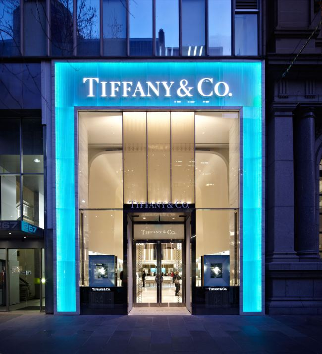 Tiffany Negozio New York