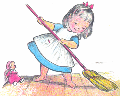 Sweep The Floor Clipart