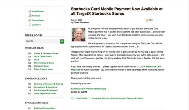 Starbucks Leadership