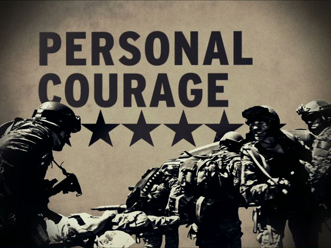army personal courage Armystudyguidecom provide extensive information about army values the army, and the organization personal courage.