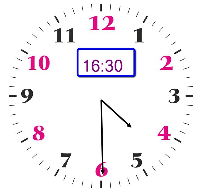 Resultado de imagem para 16:30