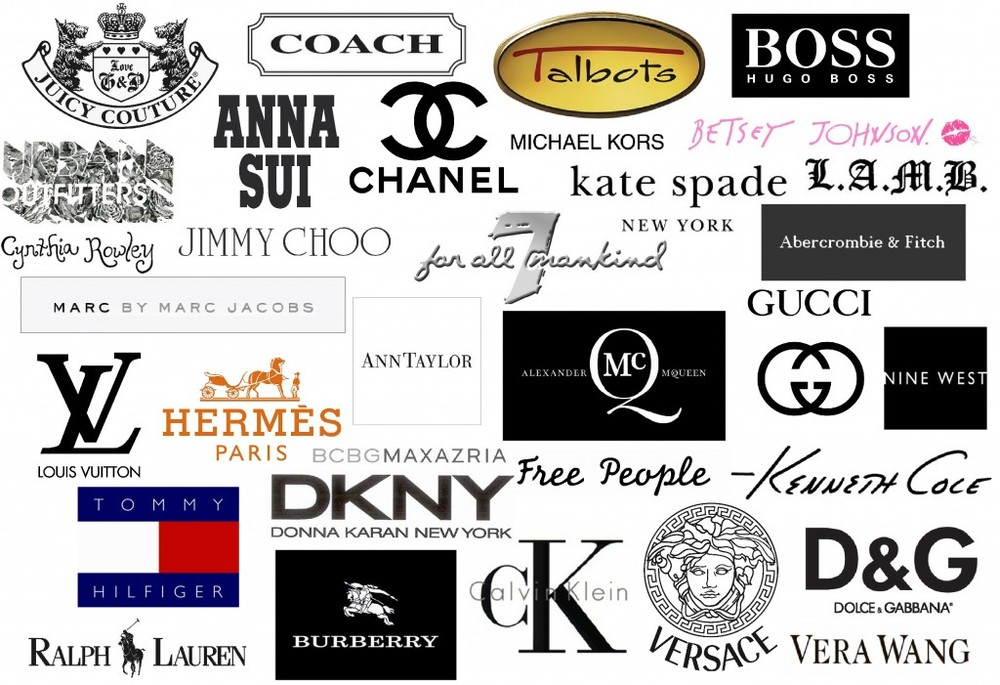 World Famous Fashion Brand Logos Latest Trend
