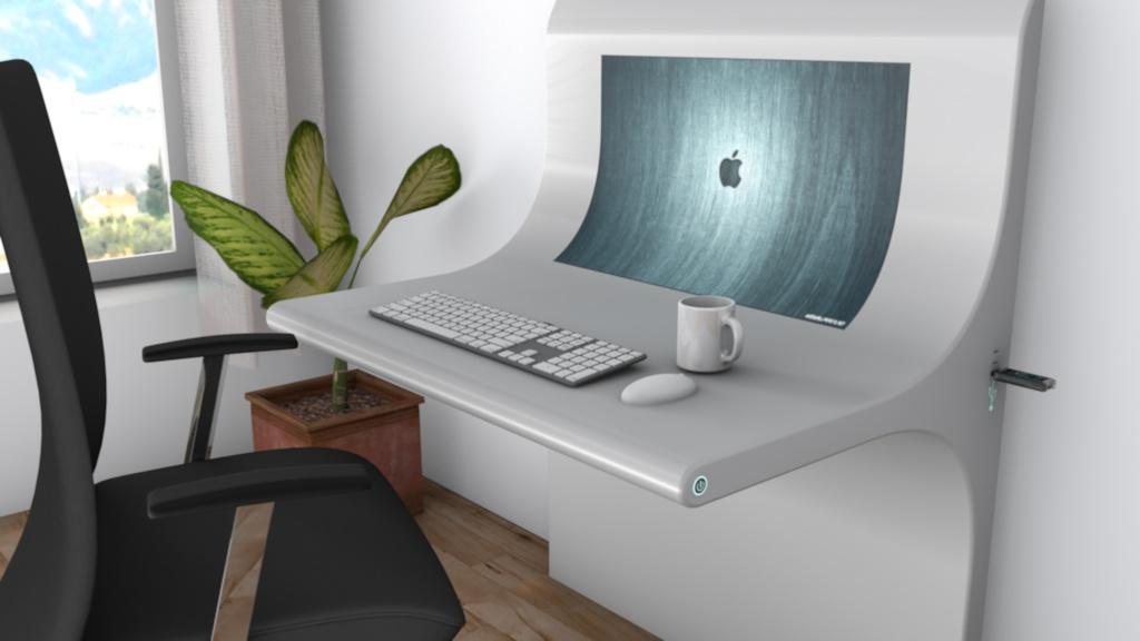 Schreibtisch design apple  Presentation Name