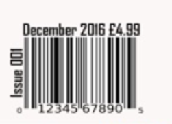 I Have Included A Barcode In The Bottom Left Hand Corner Of My Magazine Which Is Usual Place Music Magazines Around Bar Code