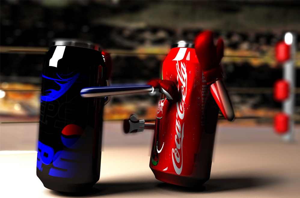 competitive analysis between pepsi and coca cola