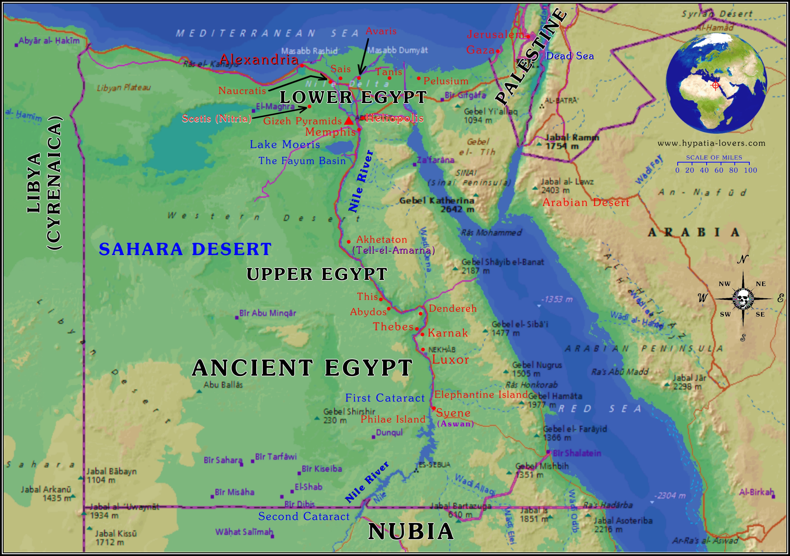 ancient egypt geography project on emaze