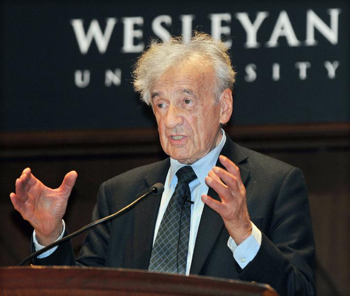elie wiesel essays Nobel peace prize recipient elie wiesel, best known for his writings on the holocaust, is also the accomplished author of novels, essays, tales, and plays as well as portraits of seminal figures in jewish life and experience.