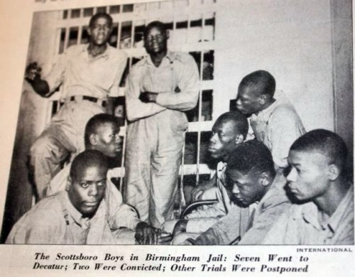 the scottsboro trials March 25, 1931: posse stops southern railroad train in paint rock, alabama scottsboro boys are arrested on charges of assault rape charges are added against all nine boys after accusations are made by victoria price and ruby bates.
