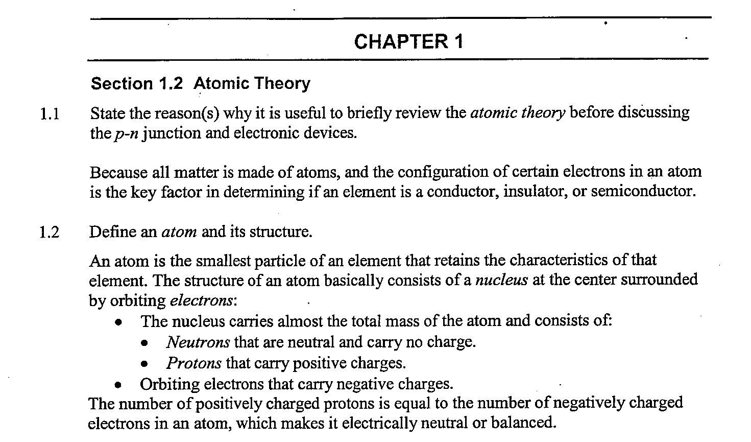 Atomic structure worksheet answers 3 6
